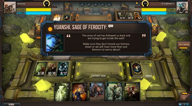 Infinity Wars, un jeu de cartes TCG en free-to-play
