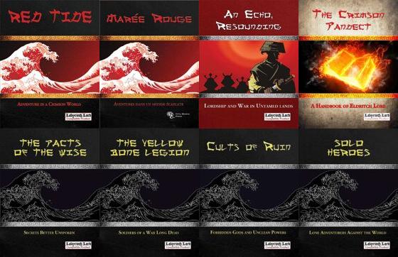Livres liés à l'univers Red Tide