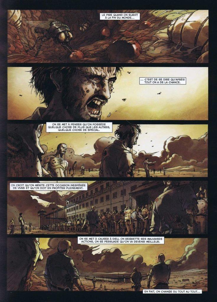 une planche de Zombies T1